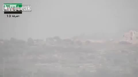 MissileGfys, missilegfys, Syrian Rebel Hits T-62 with TOW Missile (reddit) GIFs