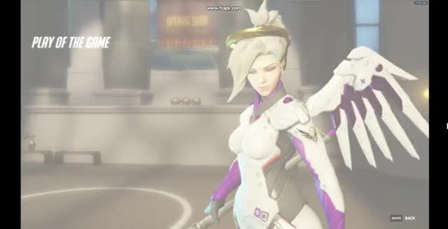 Watch Mercy Rez Charging Up GIF by @arcticdragon on Gfycat. Discover more Mercy, overwatch, playofthegame GIFs on Gfycat