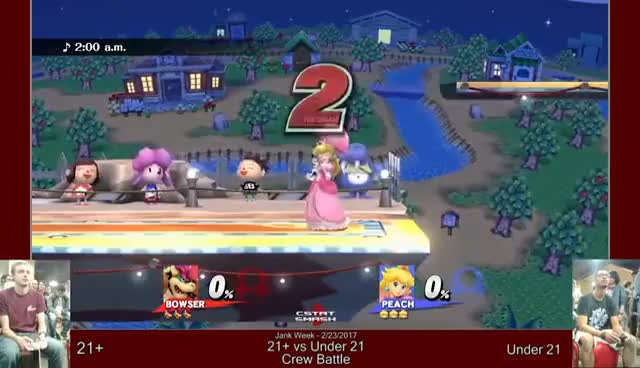 Watch MSC SM4SH Weekly: Jank Week - 21+ vs Under 21 Crew Battle [February 23, 2017] GIF on Gfycat. Discover more related GIFs on Gfycat