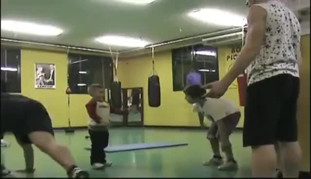 Watch on the boxing gym ,Giuliano 4 years old Claudio 2 years old GIF on Gfycat. Discover more related GIFs on Gfycat