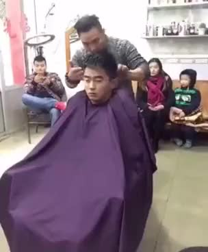Watch and share What The Chinese Do For The Hairdresser GIFs on Gfycat