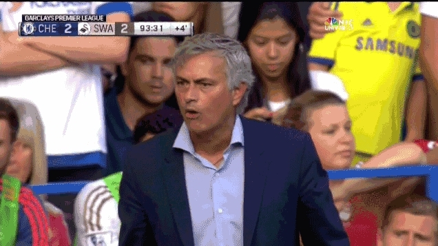 José Mourinho, mourinhogifs, soccer, /r/soccer's Most-hated clubs: Results (Part 1: England, France, Benelux) (reddit) GIFs