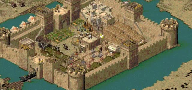 Watch and share Stronghold Crusader GIFs and Video Game GIFs by SergiuHellDragoonHQ on Gfycat