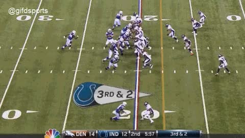 Watch and share Andrew Luck To Stanley Havili TD GIF GIFs on Gfycat