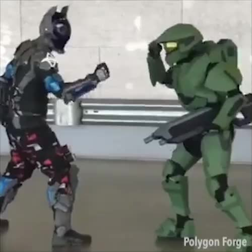 Watch and share Masterchief GIFs and Papercraft GIFs by gamedevm on Gfycat