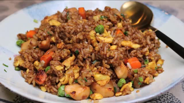 Watch and share Fried Rice Recipe GIFs by Souped Up Recipes on Gfycat