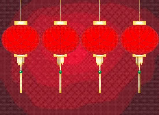Watch and share Happy Chinese New Year Gif Hanging Lantern GIFs on Gfycat