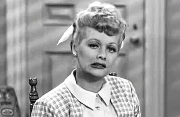 awkward, bite, crazy, funny, lol, lucille ball, lucy, nuts, Awkward Lucy GIFs