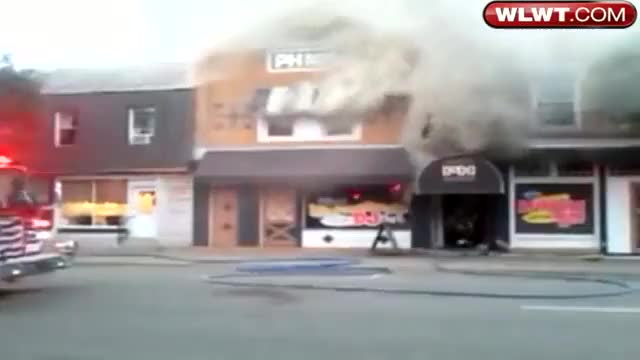 Watch and share Firefighters Caught In A Backdraft. (reddit) GIFs by forte3 on Gfycat