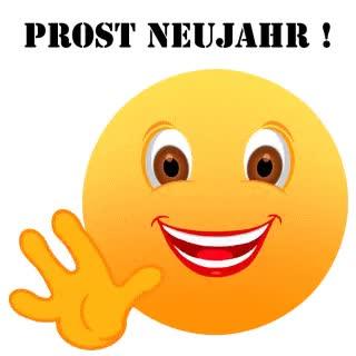 Watch and share Smiley – Prost Neujahr! GIFs on Gfycat