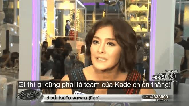 Lukkade Metinee: #TeamKade nhất định sẽ chiến thắng The Face Thái Lan mùa 3