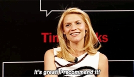 *, carrie mathison, claire danes, favorite, homeland, homelandedit, i'm in love with everything here but especially 8 and 9, times talk 2015, HELL YEAH HOMELAND GIFs