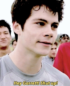 *, Dylan O'Brien, God I need to stop, Mason Dye, Stiles Stilinski, Teen Wolf, and then jealous boyfriend Stiles comes around and say Hey Garrett shut up he's mine, i have no idea why but i love it when people say McCall, it could sound like Garrett is checking out Scott and he goes like Nice McCall, it's so rounded and warm in the mouth :3, mine, ok i'm out, the notes omg, twedit, what is context though, alright alright alright GIFs
