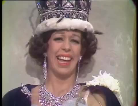 Watch and share Carol Burnett Queen Laugh GIFs on Gfycat