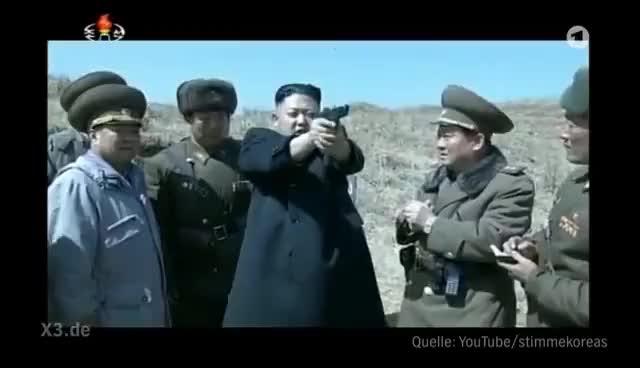 Watch and share Song: Ich Bin Der Kim Jong-un | Extra 3 | NDR GIFs on Gfycat