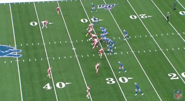 Watch and share KC DET (2019): Cover 3 Stafford Hits The Seam GIFs by Matt Weston on Gfycat