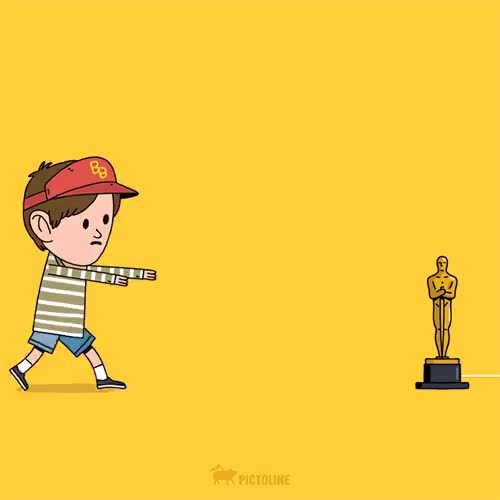 Watch and share Leonardo Dicaprio GIFs and Oscars GIFs by John D Gfycat person place thi on Gfycat