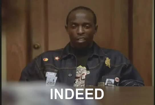 Watch this adverttrending GIF by Media Paradise (@entfanatic) on Gfycat. Discover more Indeed, Michael K. Williams, Omar, Wire, celebs, yes GIFs on Gfycat