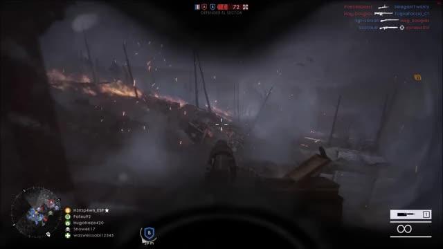 Watch and share Battlefield GIFs and Machine Gun GIFs by h3llsp4wn on Gfycat