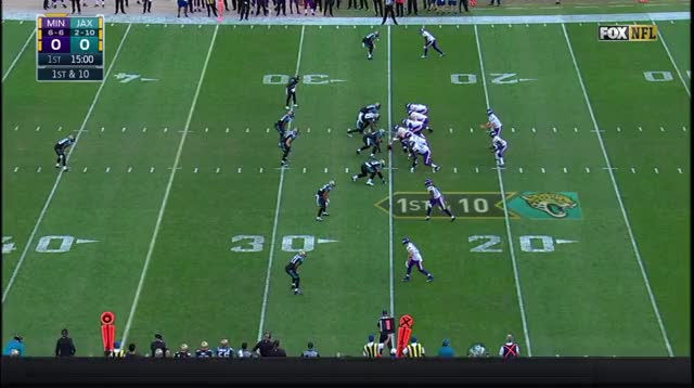Watch and share Sam Bradford Goes Rogue For Big Gain Vs. Jacksonville (2016, Week 14) GIFs by NFL Guy on Gfycat