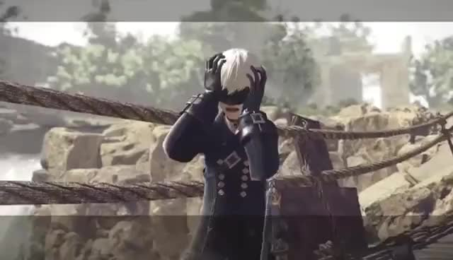 Watch NieR Automata 9S Scream GIF on Gfycat. Discover more related GIFs on Gfycat