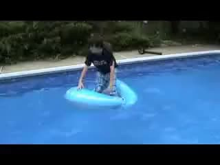 Watch and share Pool Funny GIFs and Hunter GIFs on Gfycat