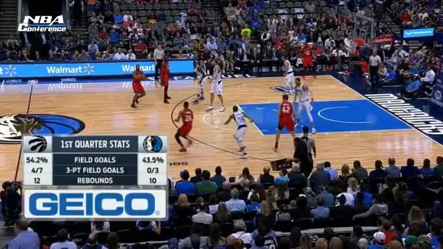 Watch and share Toronto Raptors Vs Dallas Mavericks - Full Game Highlights | March 25, 2017 | 2016-17 NBA Season GIFs on Gfycat
