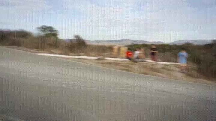 Skateboarder making an awesome recovery from a fall GIFs