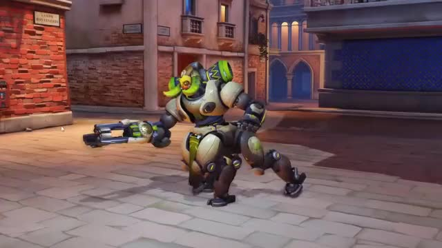 Watch Immovable Orisa GIF on Gfycat. Discover more related GIFs on Gfycat