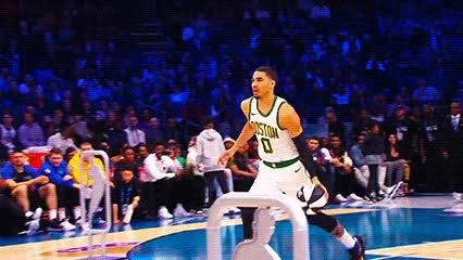 Watch and share Jayson Tatum — 2019 Skills Challenge GIFs by Off-Hand on Gfycat