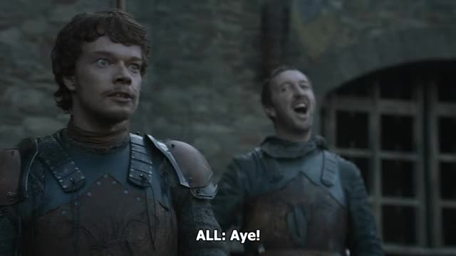 Watch Game of Thrones 02x10 Valar Morghulis.mkv 20190126 023911 GIF by Sergei Kulagin (@hardcore) on Gfycat. Discover more alfie allen, celebs GIFs on Gfycat
