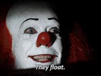 Watch Scary clown GIF on Gfycat. Discover more related GIFs on Gfycat