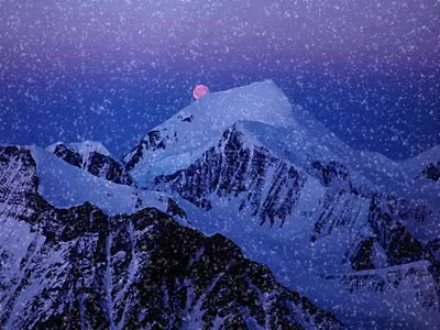 Watch and share Christmas Wallpaper Called It's Snowing Merry Christmas Maria GIFs on Gfycat