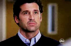 Watch and share Derek's Tribute GIFs and Patrick Dempsey GIFs on Gfycat