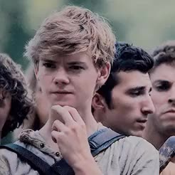 Watch  the  ivy  trio GIF on Gfycat. Discover more 500, i love these three so so much, mine, my graphic, the ivy trio, the maze runner, thegladekeepers, thominewt, tmredit GIFs on Gfycat