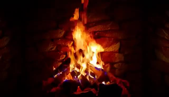 Watch and share 4K Relaxing Fireplace & The Best Instrumental Christmas Music & Crackling Fire Sounds GIFs on Gfycat