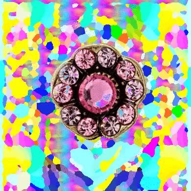 pink brosh jewel