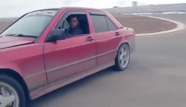 Watch and share Mercedes 190e V8 Drift GIFs on Gfycat