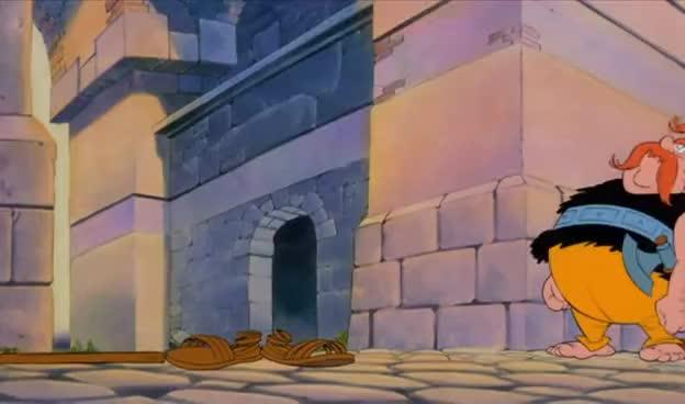 Asterix & Obelix im Hauptquartier der Römischen Legion GIFs