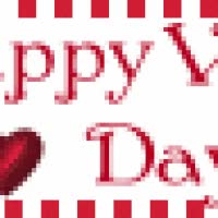 Watch and share Happy Valentine's Day - Red Roses And Hearts Blinkie 01 GIFs on Gfycat