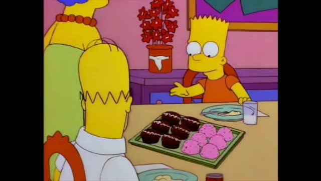 Watch and share Bart Choosing Cake GIFs on Gfycat