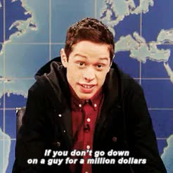 Watch and share Saturday Night Live GIFs and Pete Davidson GIFs on Gfycat