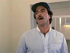 Watch and share Tom Selleck GIFs and Calm GIFs on Gfycat