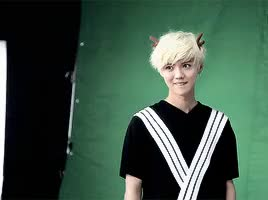 Watch and share We Chat GIFs and Lu Han GIFs on Gfycat