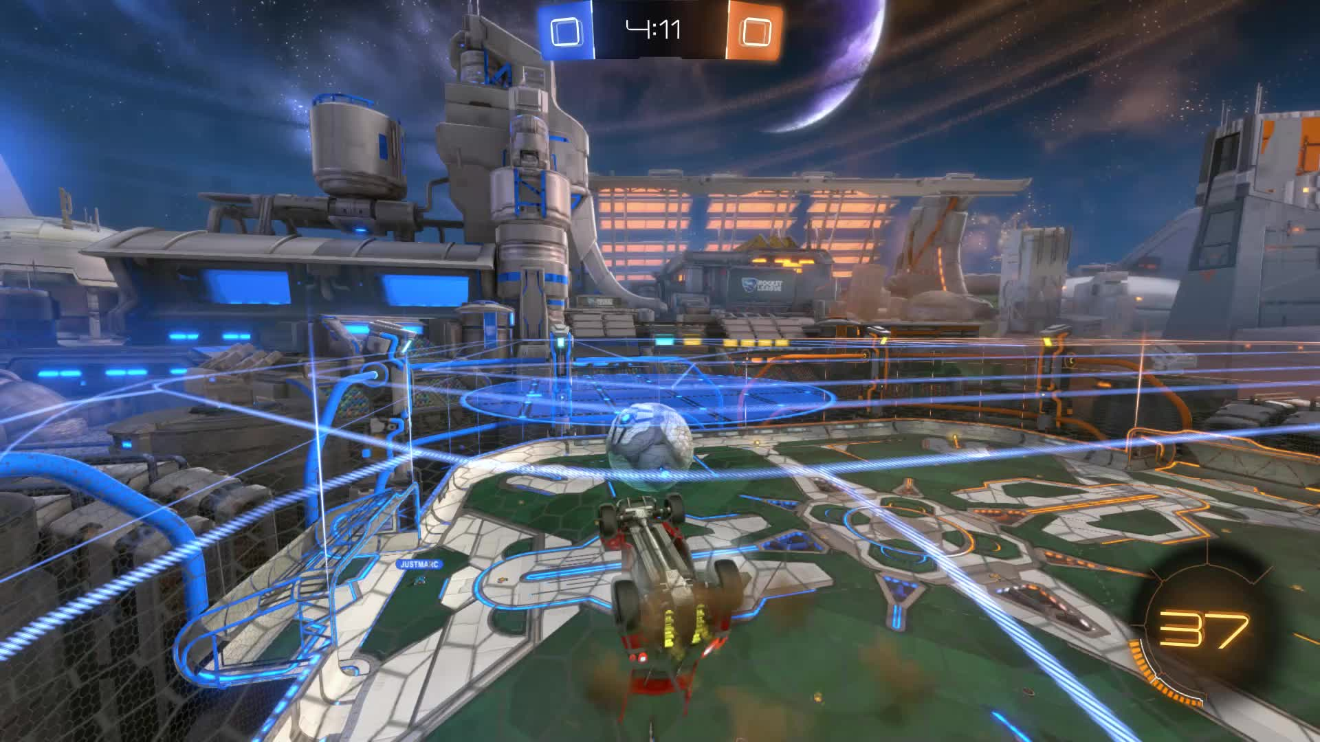 Gif Your Game, GifYourGame, Rocket League, RocketLeague, Shot, Squash, Shot 3: Squash GIFs