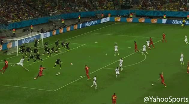 Watch and share [GIF] All Of Tim Howard's Saves Against Belgium Shown Simultaneously (reddit) GIFs on Gfycat