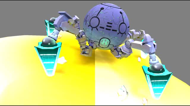 Watch and share Access Ark Kirby Planet Robobot GIFs by nooshstuff on Gfycat