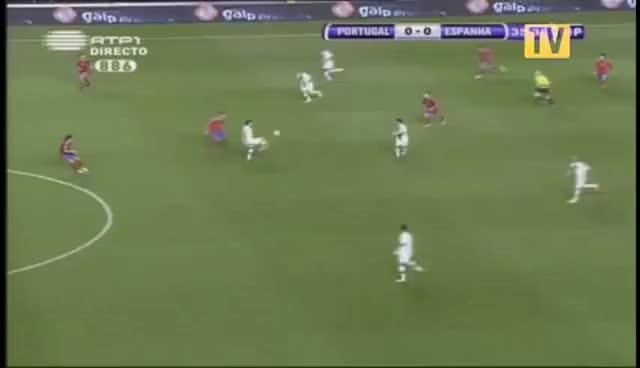 Watch and share Gol Anulado A Cristiano Ronaldo [Portugal - España] {Versión Corta} GIFs on Gfycat