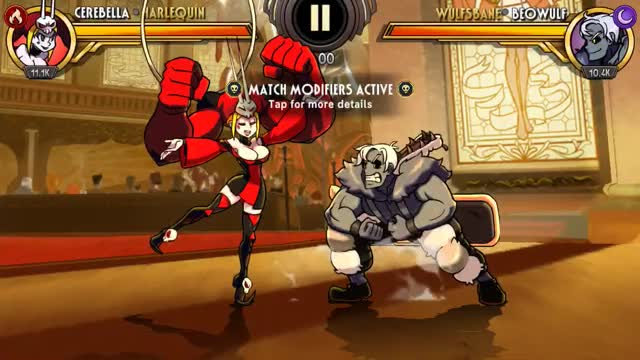 Watch and share Skullgirls Mobile - Cerebella, The Complete Toolkit GIFs by moisterrific on Gfycat
