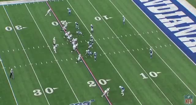Watch and share OAK IND (2019): Carr Backshoulder Throw V. Quincy Wilson To Tyrell Williams 1 V 1 GIFs by Matt Weston on Gfycat